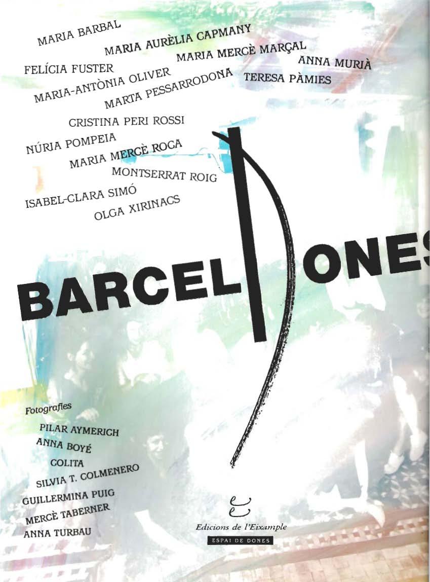 Viratges, reminiscències, dins Barcelodones - Narrativa