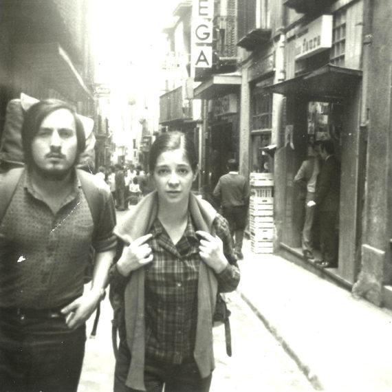 Amb Pinyol dia Corpus Berga 1972