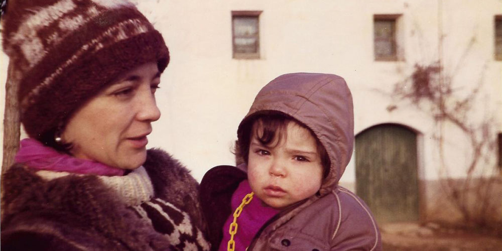 Maria-Mercè Marçal i filla