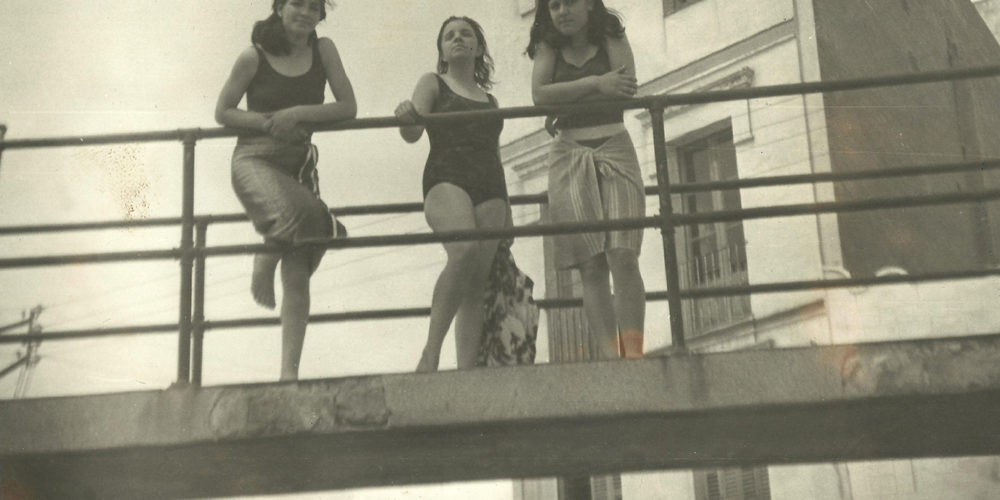 Amigues pont, Isabel Díez i Ma Fernanda López